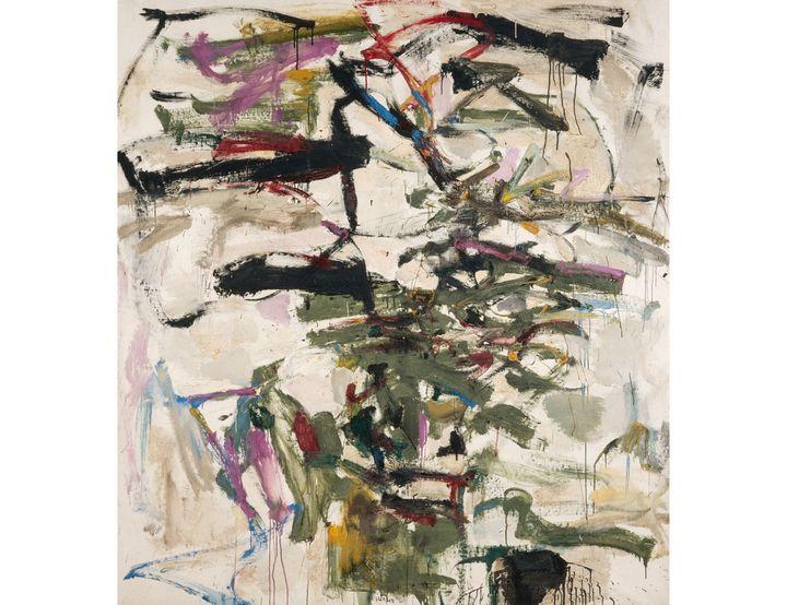 "Joan Mitchell, ""Mephisto"", 1958 (© Estate of Joan Mitchell © Centre Pompidou, MNAM-CCI/Jacques Faujour/Dist. RMN-GP)"