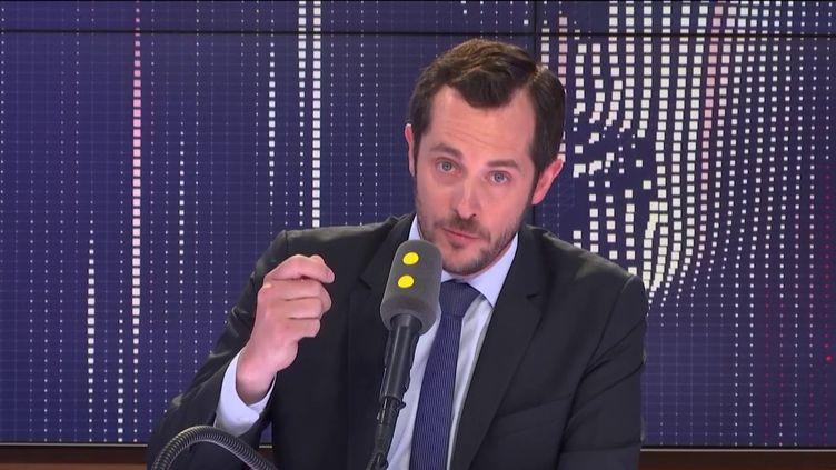 Nicolas Bay, invité de franceinfo le 3 juin 2019. (FRANCEINFO / RADIO FRANCE)