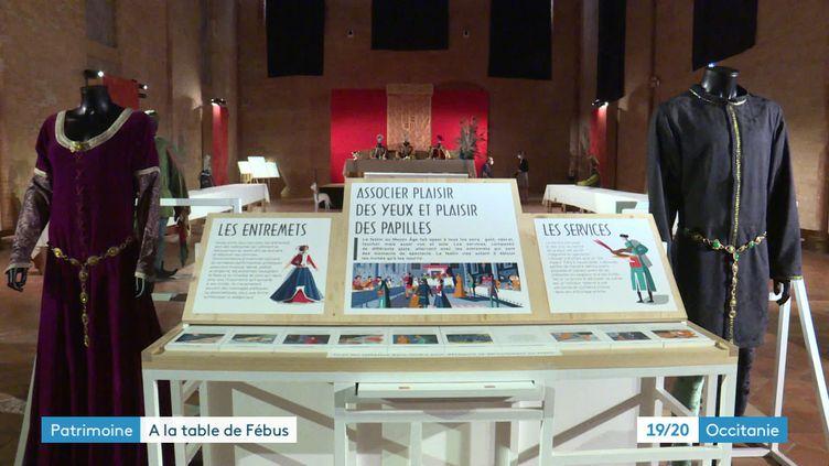 Exposition Le festin de Fébus à Toulouse (France 3 Midi-Pyrénées)