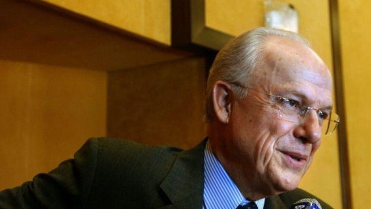 L'ancien ministre du Budget, Alain Lambert. (MYCHELE DANIAU / AFP)