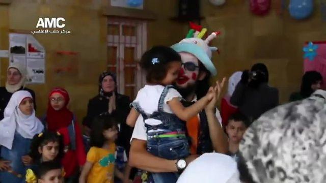 Syrie : le clown d'Alep est mort