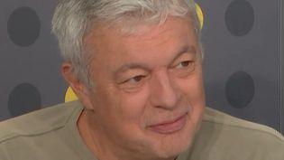 Yves Le Rolland, le producteur artistique des Guignols de 1995 à 2016. (FRANCEINFO / RADIOFRANCE)