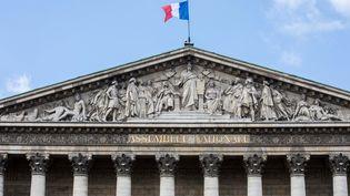 La façade de l'Assemblée nationale, le 12 juin 2017. (MAXPPP)
