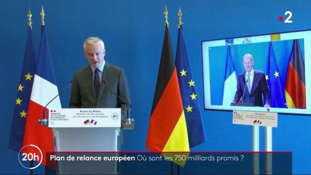 Union européenne : comment les 750 milliards d'euros du plan de relance seront distribués