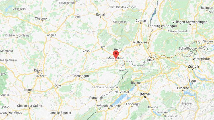 Montbéliard (Doubs). (GOOGLE MAPS)