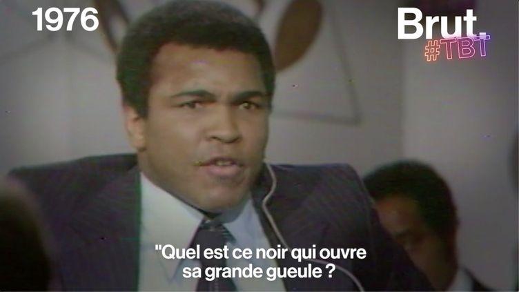 VIDEO. En 1976, la colère de Mohamed Ali sur le plateau d'Apostrophes (BRUT)