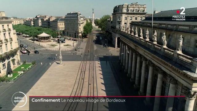 Confinement : à Bordeaux, le miroir d'eau ne reflète plus les passants