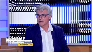 Patrick Le Hyaric (FRANCEINFO)