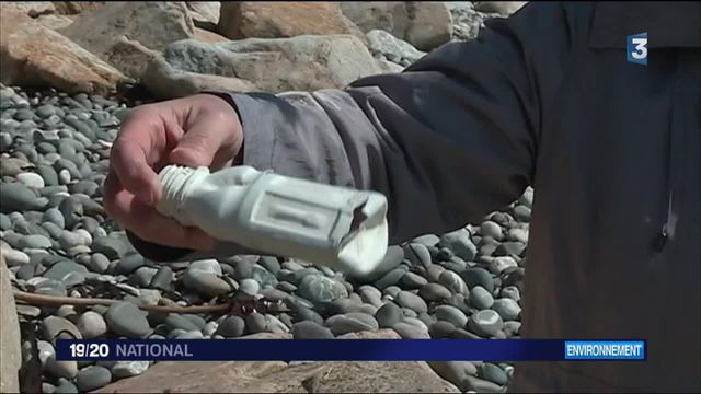Une pollution préoccupante des plages de la côte atlantique