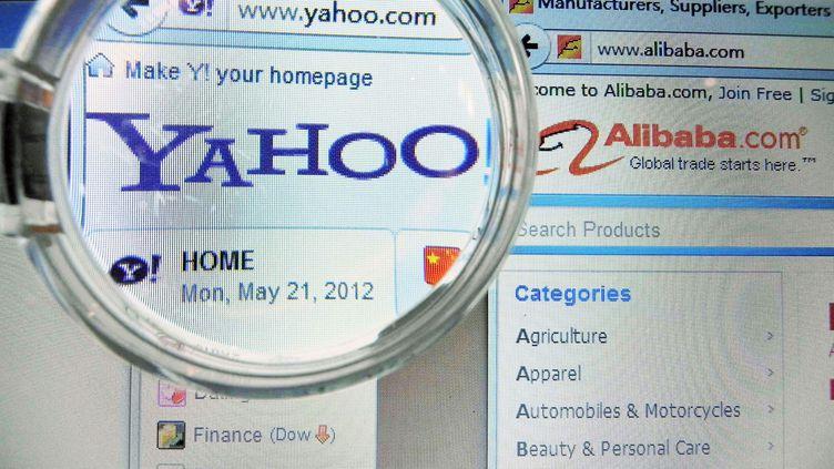 Yahoo! et Facebook se livrent une guerre des brevets depuis début 2012. (SHAN HE / IMAGINECHINA / AFP)