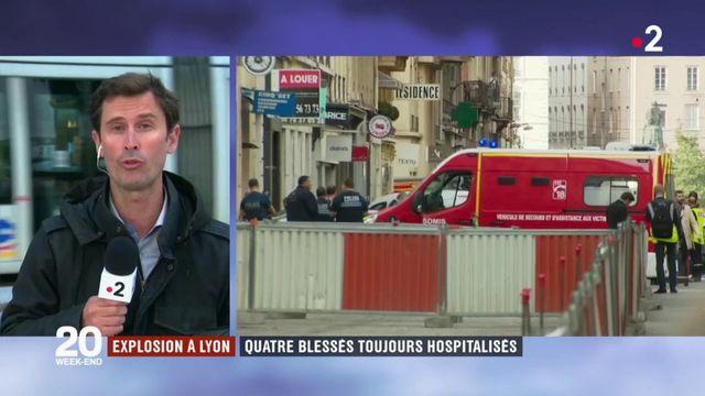 Explosion à Lyon : quatre blessés toujours hospitalisés
