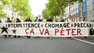 Manifestation d'intermittents du spectacle à Paris, le 14 mai 2014  (CITIZENSIDE/VALENTINA CAMOZZA / citizenside.com)