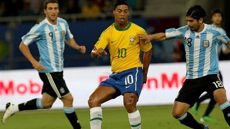 Ronaldinho, de retour en sélection après dix-huit mois d'absence