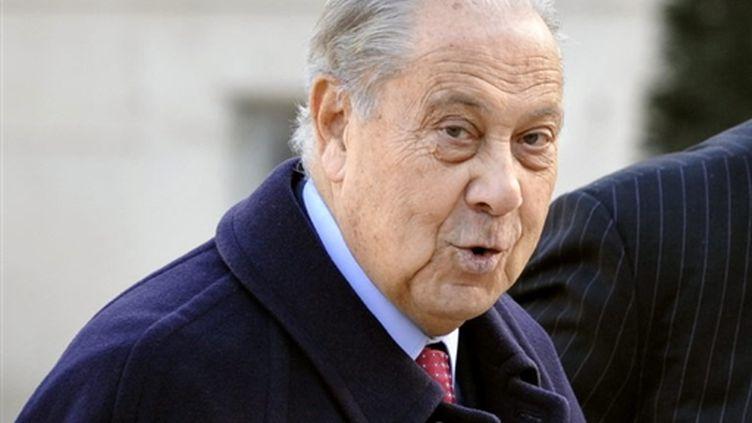 L'ancien ministre de l'Intérieur Charles Pasqua le 7 janvier 2009 (AFP - Gérard Cerles)