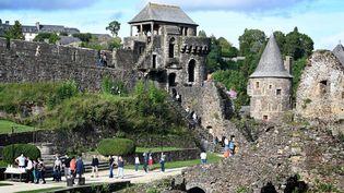 Le château de Fougères (Ille-et-Vilaine), le 19 septembre 2021. (MAXPPP)