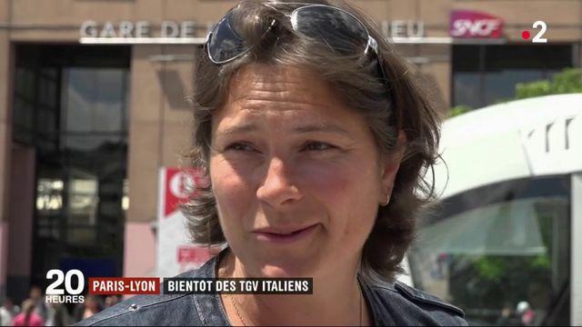 Paris-Lyon : bientôt des TGV italiens sur la ligne