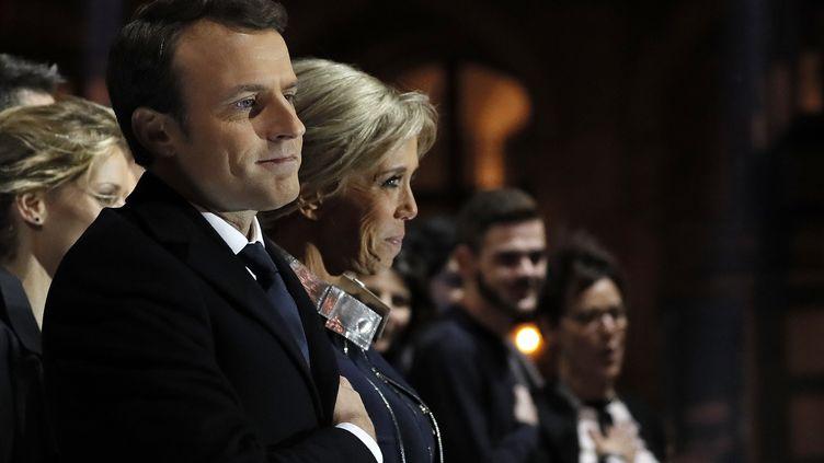 Emmanuel Macron, le 7 mai 2017, à Paris. (Photo d'illustration) (THOMAS SAMSON / POOL)