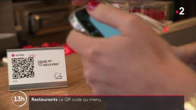 Déconfinement : dans les restaurants, le QR Code au menu