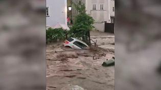 Inondations : l'Autricheen alerte, des régions inondées (France 2)