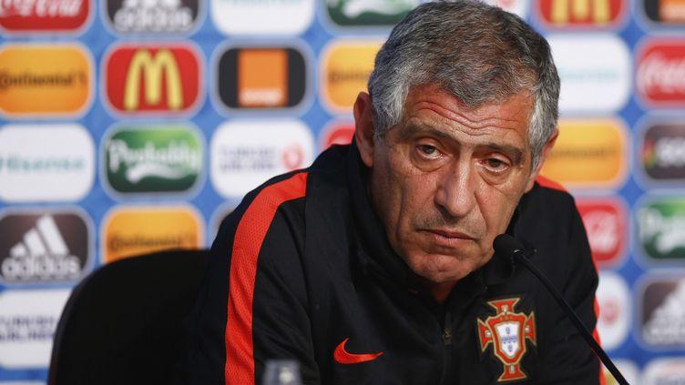 Fernando Santos, le sélectionneur du Portugal. (HANDOUT / UEFA)