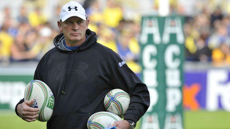 L'entraîneur de Clermont, Vern Cotter