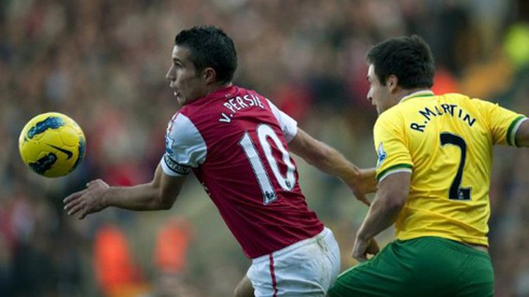 Robin Van Persie (Arsenal) (ADRIAN DENNIS / AFP)