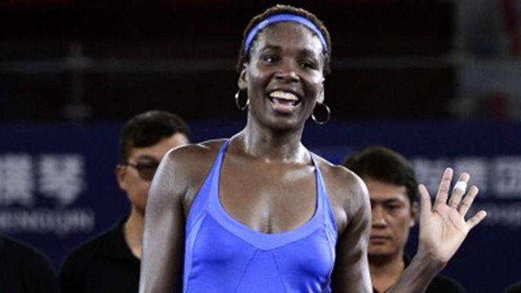 L'Américaine Venus Williams heureuse