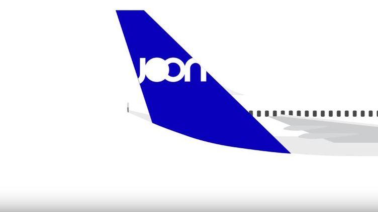 Capture écran de la vidéo promotionnelle d'Air France présentant la nouvelle acompagnie low cost, Joon, le 20 juillet 2017. (YOU TUBE / AIR FRANCE)