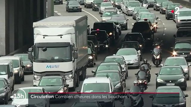 Circulation : combien de temps passent les automobilistes français dans les embouteillages ?