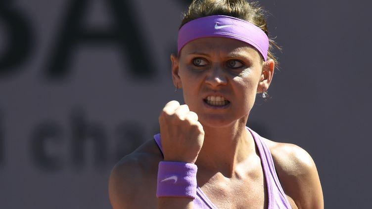 Lucie Safarova, la rage de vaincre désormais à tous les instants. (MIGUEL MEDINA / AFP)