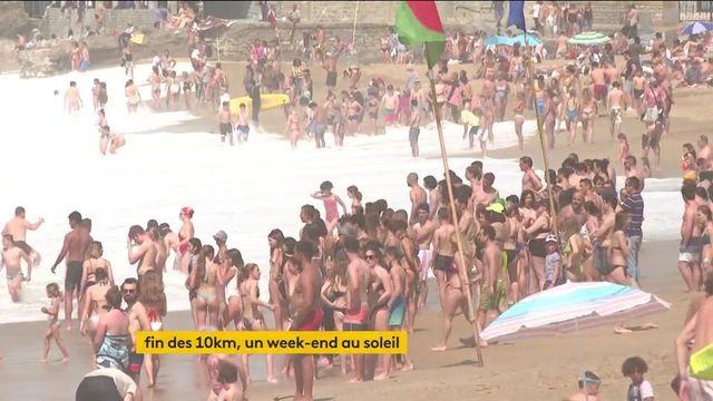 Covid-19 : sous le soleil, les Français profitent du premier week-end sans les restrictions de déplacement
