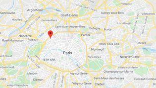 """Le """"Mozart du cambriolage"""" a été arrêté en flagrant délit de vol par la police judiciaire de Paris, dans le 17e arrondissement de la capitale, mercredi 7 avril 2021. (GOOGLE MAPS)"""