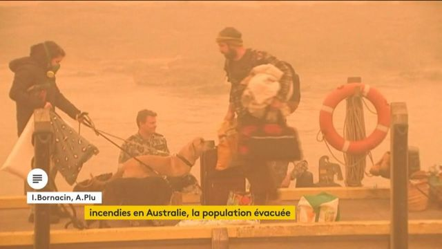 Incendies en Australie, la population évacuée