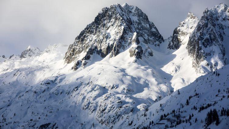 le Col de Balme, à la frontière franco-suisse. Photo d'illustration. (GR?GORY YETCHMENIZA / MAXPPP)