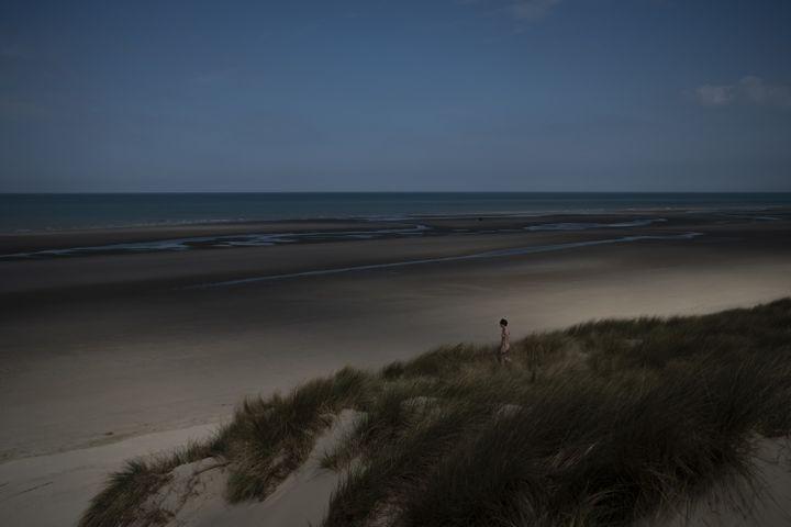 Léa nue dans les dunes du Touquet (DAVID TEMPLIER)