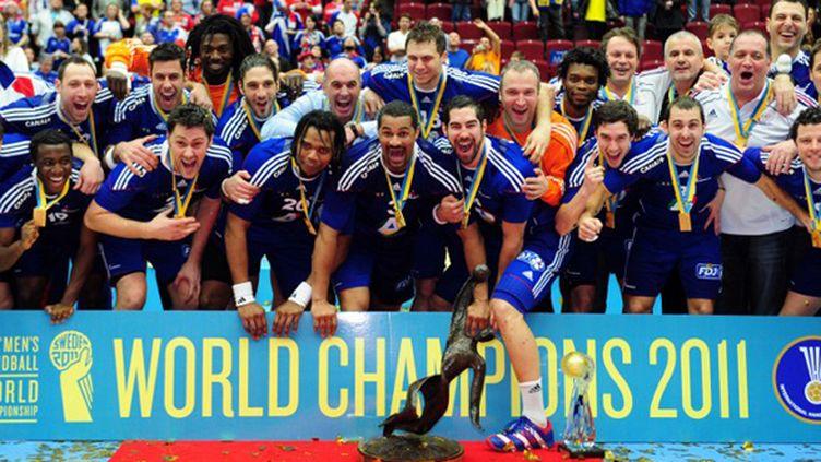 Le deuxième sacre mondial consécutif de l'équipe de France en 2011