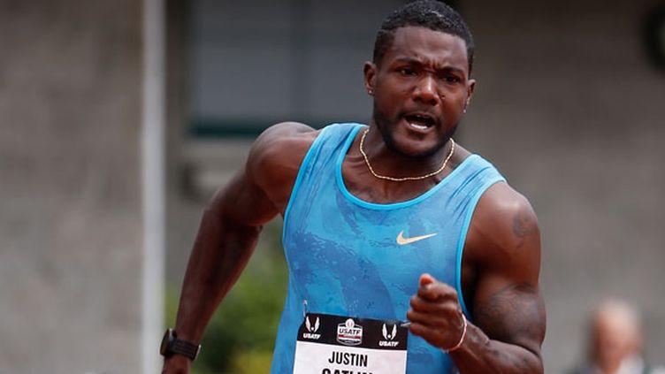 Le sprinteur américain, Justin Gatlin