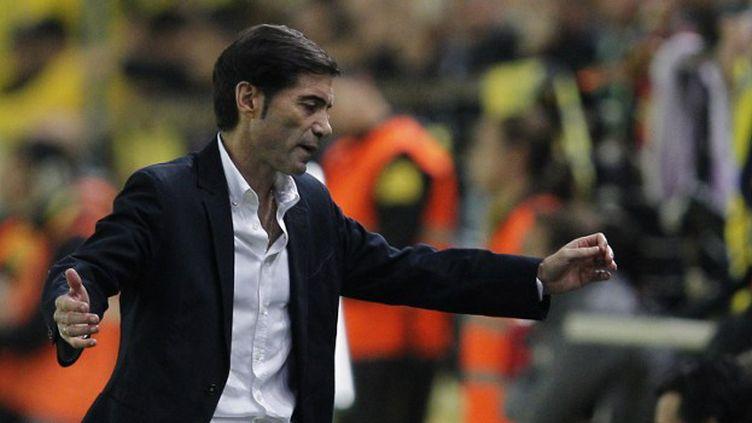 Marcelino Garcia Toral, le coach de Villareal (JOSE JORDAN / AFP)