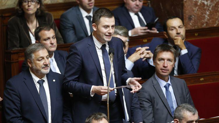 Le député LR Ian Boucard, le 4 octobre 2017 à l'Assemblée nationale. (MAXPPP)