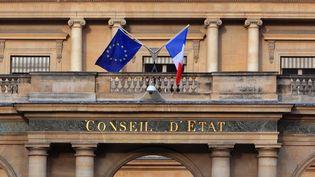 Le Conseil d'Etat (façade)  (Manuel Cohen / MCOHEN)