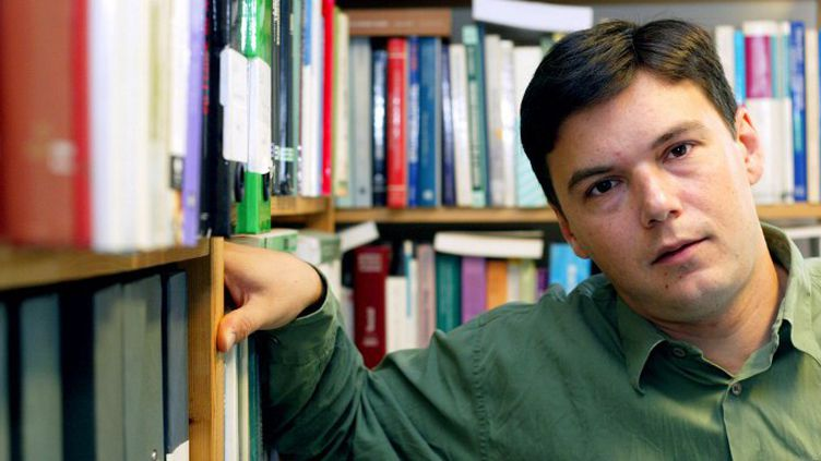 Thomas Piketty, lauréat du Prix de l'essai France Culture/Le Monde  (MARTIN BUREAU / AFP)