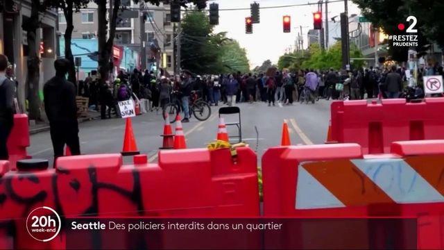 États-Unis : des policiers interdits d'un quartier de Seattle