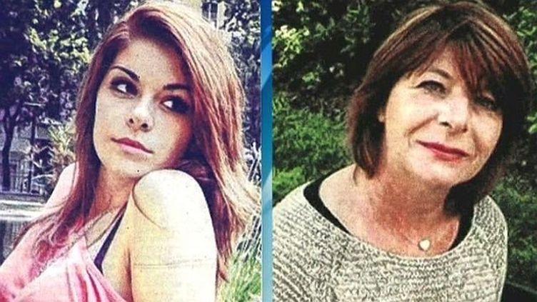 Allison Benitez, 19 ans, et sa mère, Marie-Josée, 53 ans. (FRANCE 3 LANGUEDOC-ROUSSILLON)