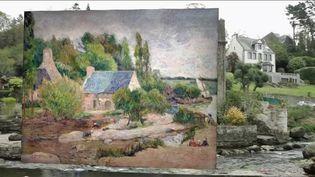 Finistère : Pont-Aven, la ville des peintres et de la galette (France 2)
