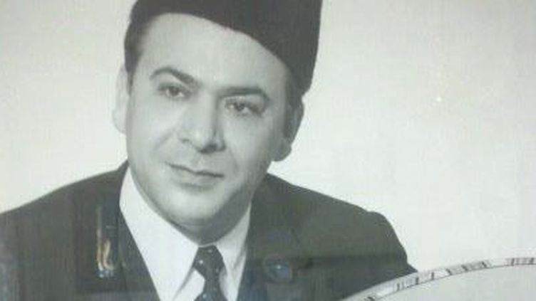 Mohamed-Tahar Fergani en 1958.  (Droits Réservés.)