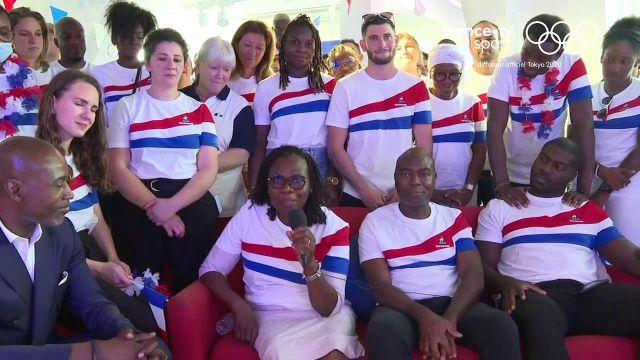 La maman de clarisse Agbégnénou salue la victoire de sa championne olympique de fille avec un joli message plein de fierté, de joie et d'émotion.