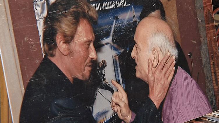 Johnny Hallyday et Mario Gurrieri, l'homme qui prit la première photo de la star dans les années 1960  (France 3 / Culturebox )