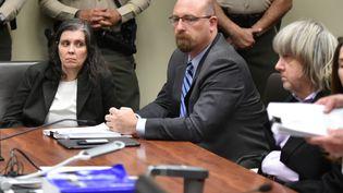 David Turpinet Louise Turpin devant la cour du comté deRiverside en Californie, le 18 janvier 2018. (REUTERS)