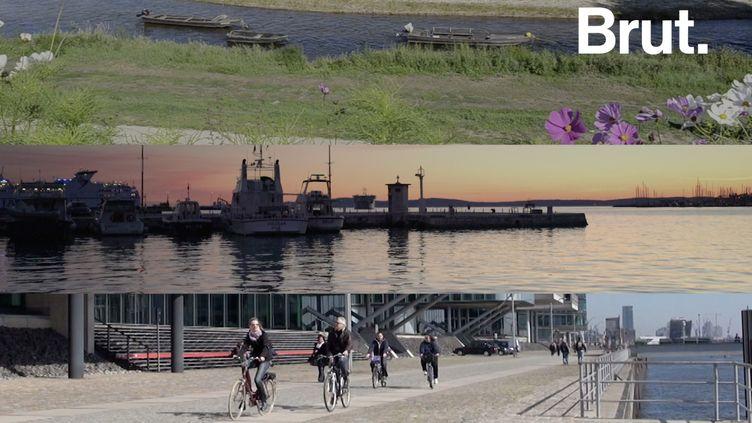VIDEO. 70 000 kilomètres de pistes cyclables à travers 42 pays… Découvrir l'Europe à vélo, oui c'est possible (BRUT)