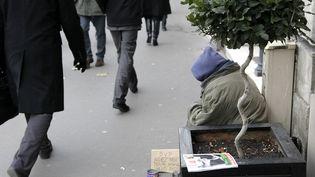 Selon le Samu social, aujourd'hui il manque au moins 3 000 places dans l'agglomération parisienne. (VINCENT ISORE / MAXPPP)